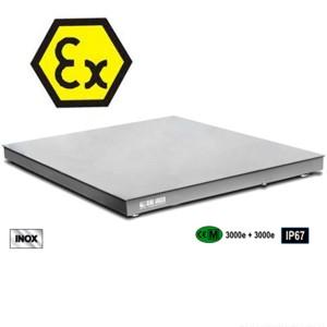 05900076 - Edelstahl-Plattformwaage ATEX Zone 1 und Zone 21