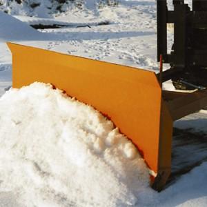 06300004 - Schneeschild mit Gummileiste