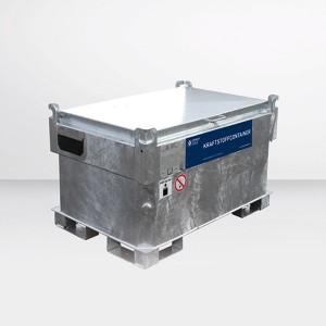 07000002 - Kraftstoffcontainer Quadro-CV330 für Benzin, mit Hand-, 12V  oder 230V Pumpe, doppelwandig