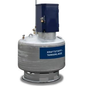 07000048 - Benzin-Tankanlage 400l, 600l oder 995l - Typ KA - doppelwandig - zur Lagerung