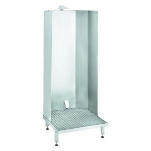 08000054 - Schürzen Reinigungskabinett aus Edelstahl