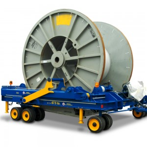 08500581 - Industrieanhänger für Kabeltrommeltransporte 67,5 to