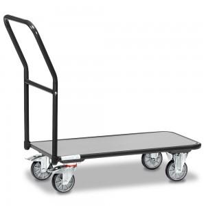 01600913 - Fetra Transportwagen mit festem Schiebebügel, Grey Edition