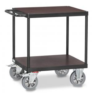 01600920 - Fetra Schwerlast-Tischwagen mit zwei Ebenen, Grey Edition