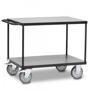 01600919 - Fetra Tischwagen mit zwei Ebenen, Grey Edition