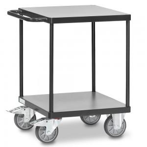 01600943 - Fetra Tischwagen mit zwei Ebenen, Grey Edition