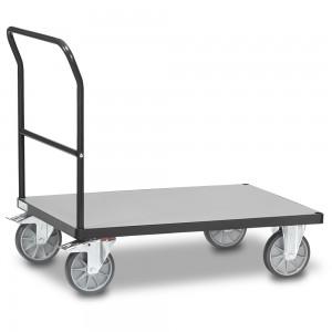 01600914 - Fetra Transportwagen mit festem Schiebebügel, Grey Edition