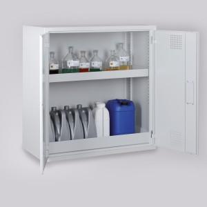 03200013 - Chemikalienschrank Bauhöhe 1000mm/1300mm, Schrankbreite 950mm bzw. 600mm
