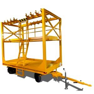 08500404 - Industrieanhänger 6 to mit Aufbau
