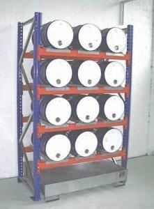 00600007 - Fassregal für 60l-Fässer