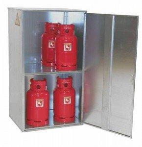 00600067 - Gasflaschen-Container Typ GFD-G