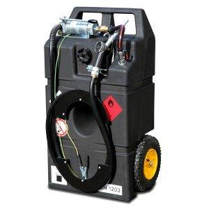 00800011 - Kraftstofftrolley Ex0 für Benzin und Aspen, 95l, mit Handpumpe