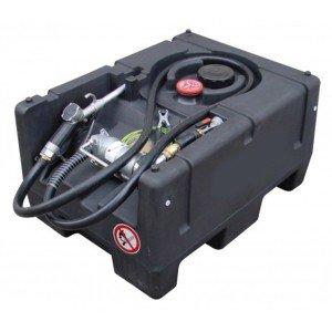00800051 - Mobile Benzin Tankanlage 120l, KS-Mobil Easy, mit Hand- oder Elektropumpe 12V, mit oder ohne Deckel