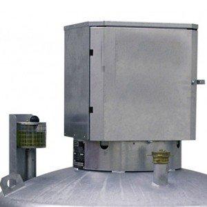 00800060 - abschließbarer Pumpenschrank für DT-Mobil - mobile Diesel-Tankanlage