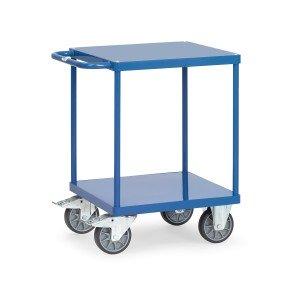 01600547 - Tischwagen mit zwei Ebenen und Schiebebügel