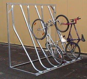 03800063 - Fahrrad-Kufenparker mit Rückwandstütze