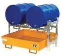 00600105 - Fass-Regal für 200l / 60l Fässer, max. 3-fach stapelbar
