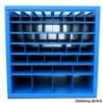 05500012 - Regalsystem als Wabenregal für leichte Materialien und Reststücke