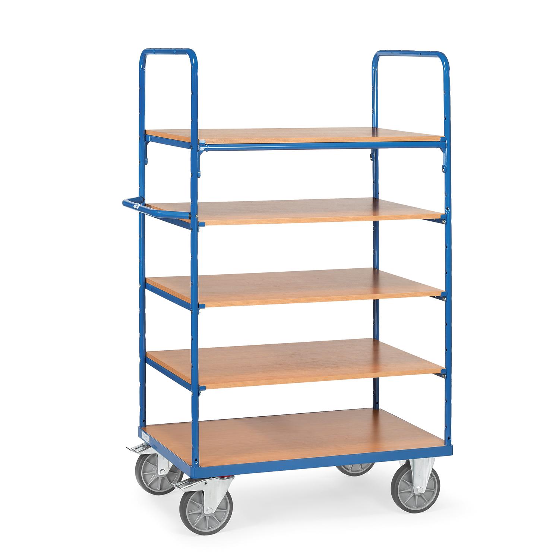 etagen transportwagen mit f nf b den online kaufen etagenwagen mit 5 b den bestellen. Black Bedroom Furniture Sets. Home Design Ideas