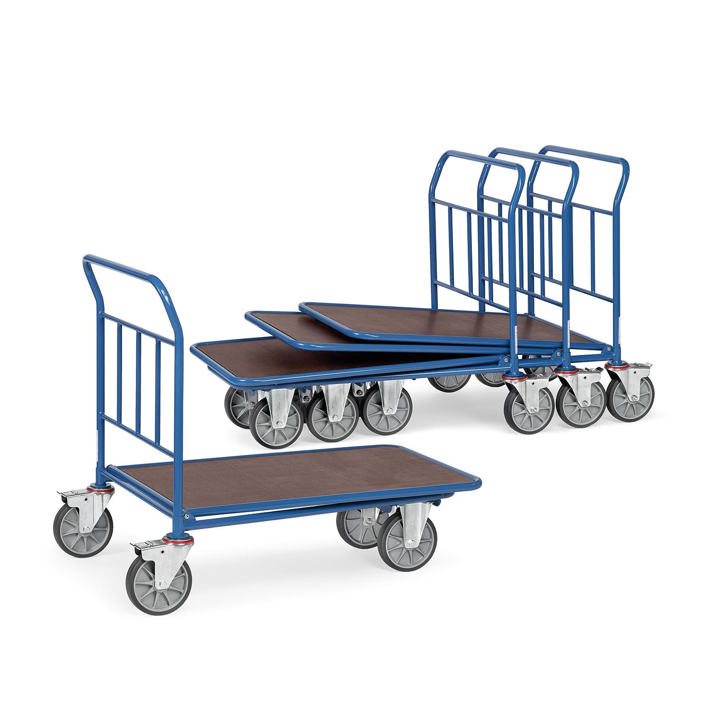 einkaufswagen mit einfacher ladefl che online kaufen. Black Bedroom Furniture Sets. Home Design Ideas