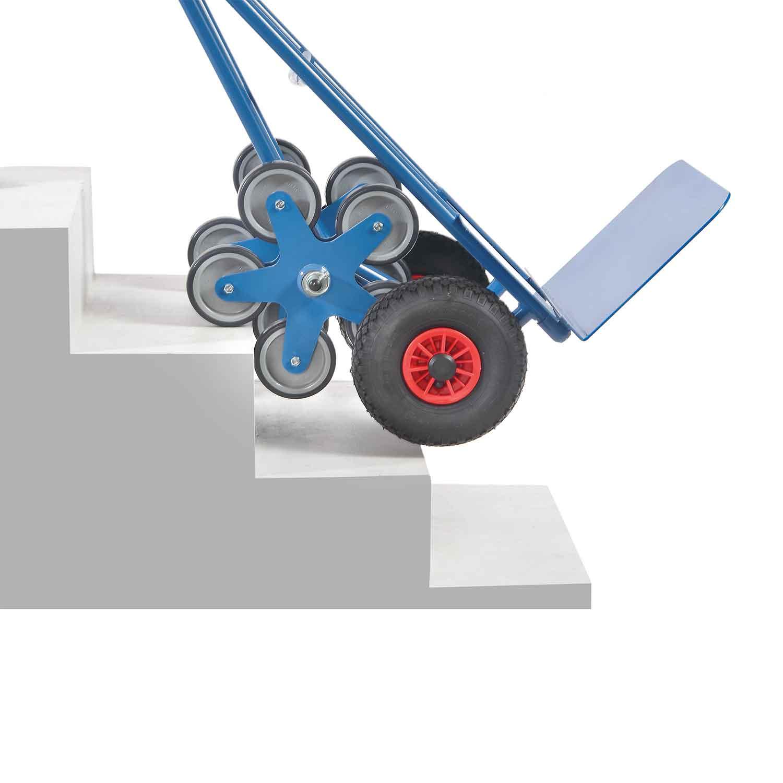 treppen sackkarre mit f nfer radsternen und breiter schaufel 01600033 online kaufen treppen. Black Bedroom Furniture Sets. Home Design Ideas